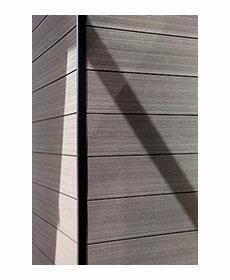 Вентилируемый фасад Twinson O-Wall (Бельгия)